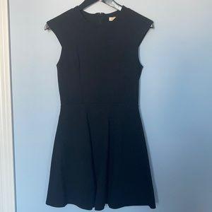 Urban Outfitters BNWT black mini open back dress